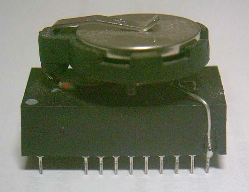 Umrüstung einer Dallas RTC auf externe Batterie